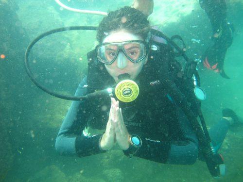 Mergulho - Batismo 2